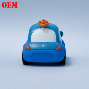 Mini Plastic Cartoon Custom Made Toy Car For Wholesale