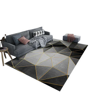 Light luxury 3D printed art carpets with modern style hotel carpets living room carpets