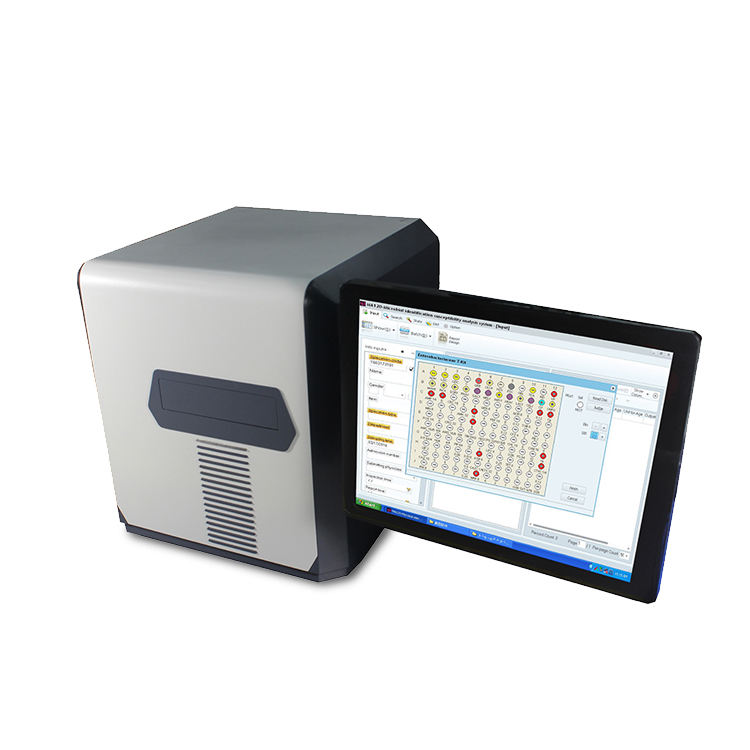 Lab Equipment YSTE-MA120 Microbial Identification And Drug Sensitivity Analysis System With Low Cost