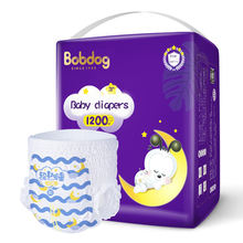 Wholesale cheap Diaper OEM Disposable Baby smooth breathable magic cotton absorption 1200ml cheap good baby diapers