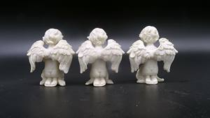High Quality Customized Decorative Resin Crafts Angel Figurines