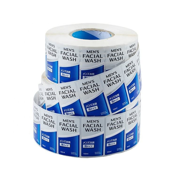 Manufacturer Custom design Waterproof Durable Cosmetic Label Printing Services