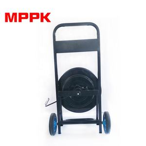 Steel Material Hand Strapping Dispenser Cart