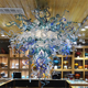 China Supplier Antique Glass Chandelier Lamps Dining Room Pendant Lights Venetian Murano Glass Chandeliers on Business