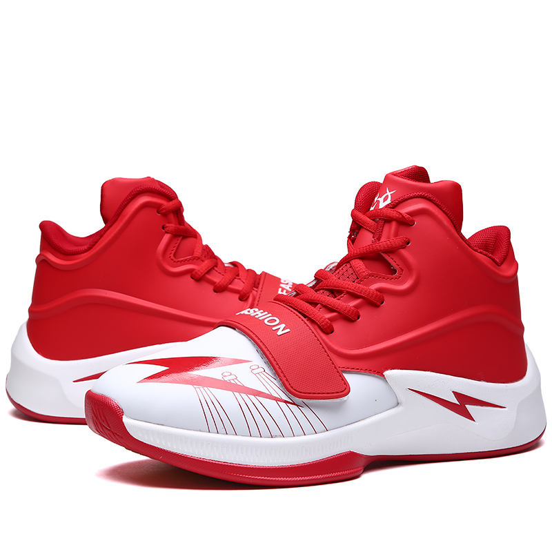 Latest New Model Wear-resisting Shoes Fashion Lace-up Basketball Shoes