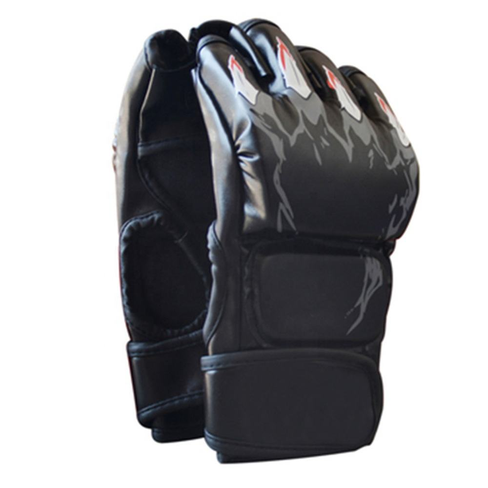 YDM Gloves for adult female boxers training sets for children's boxing half-finger punching High quality martial arts training