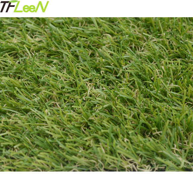 Autumn grass like artificial grass plastic mat artificial turf for gym sled areas
