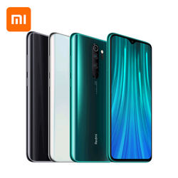 "Global ROM Xiaomi Redmi Note 8 Pro 6GB 128GB 64MP Quad Cameras NFC 4500mAh Battery 6.53"" Liquid Cooling Note8 Mobile Phone"