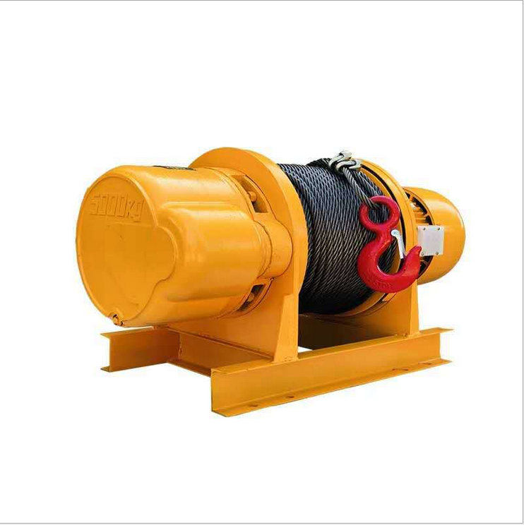 Jinniu 10Ton JK-D Electrical Hoists Winches Lifts Grue Small Electric Wire Rope Pulling Hoist construction winch lift