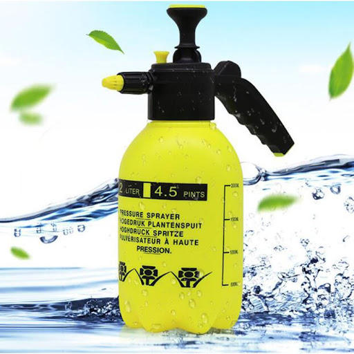 1L 2L 3L HDPE PET plastic hand pressure spray bottle for Agriculture garden chemical solvent water trigger spray pump
