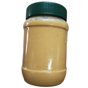 Sugar free peanut butter pure or sea salted butter plastic bottle or tin package