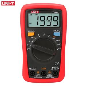 UT33A+ CAT II 600V 2mF capacitance test Palm Size Digital Multimeter
