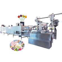 hot selling lollipop candy wrapping machine/hard candy depositing line/hard candy forming machine