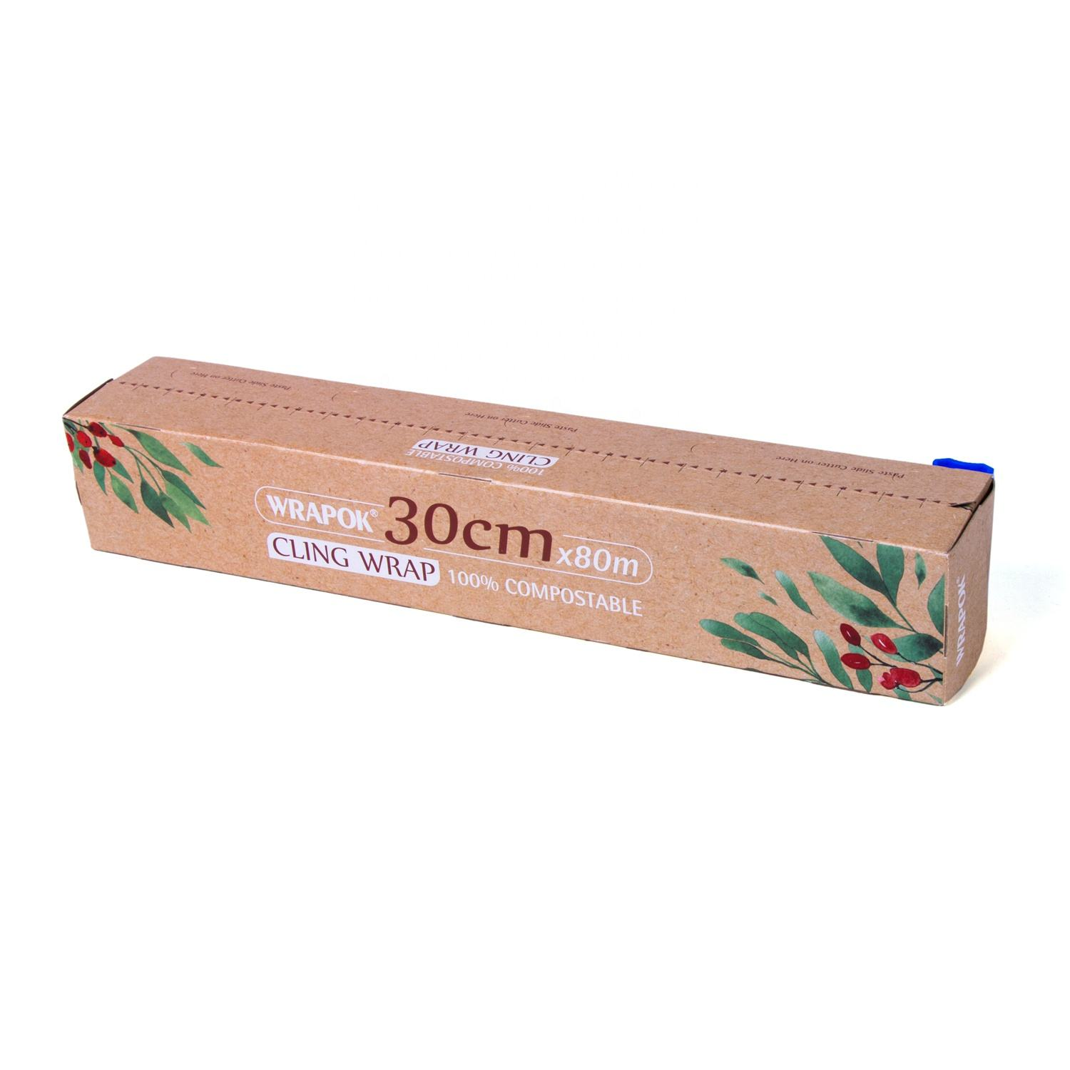 Household PLA Compostable Eco Friendly Biodegradable Cling Film Wrap