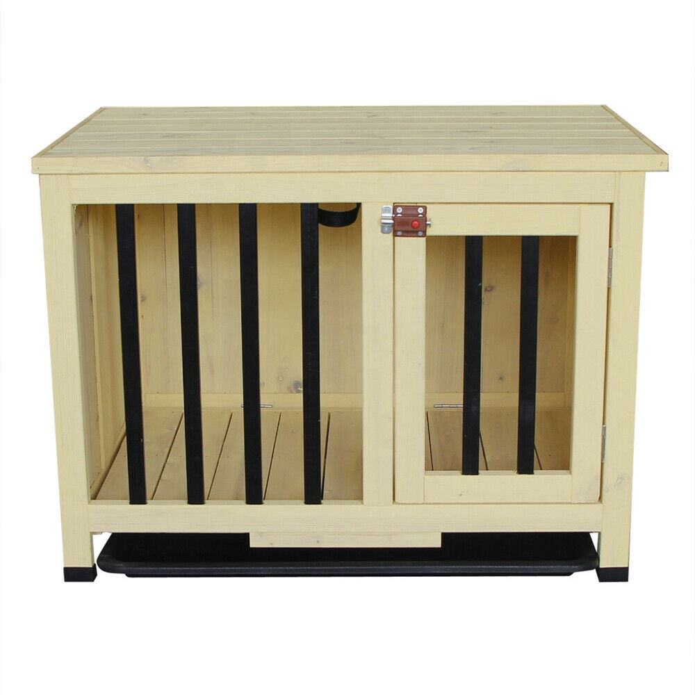 Friday Discount Wood Opening Roof Foldable Pet Shelter Dog House