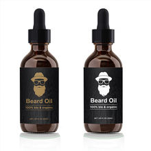 Private Label 100% Pure Natural Organic Rose Cologne Beard Growth Oil Smoothing Beard Oil