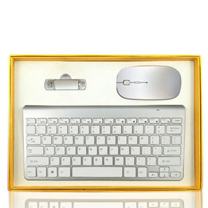 High-end Latest Practical Gifts  Vip Wireless Mouse And Keyboard Business Corporate Gifts Set/