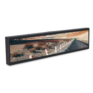 32 Potong 1 2 Peregangan Retail Rak Tepi Layar Digital Signage Ultra Wide Monitor Lcd Membentang Bar Display Edge tampilan