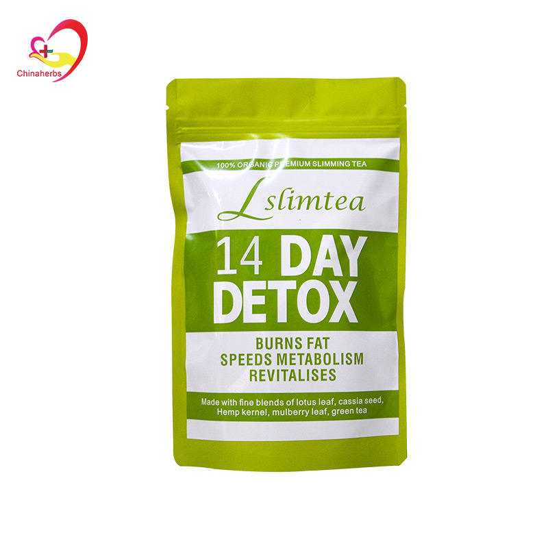 14 days detox slim tea Private label AM TEATOX Slimming Detox Tea