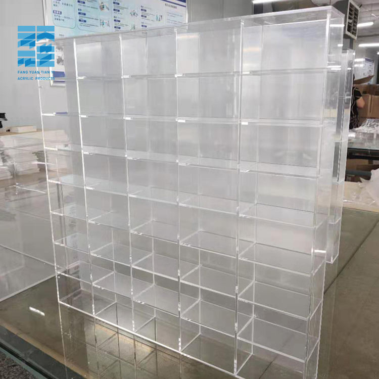 Hot Deal [ Display Rack ] Transparent Acrylic Toy Display Stand Clear Acrylic Display Rack Acrylic Eyeglass Display Stand