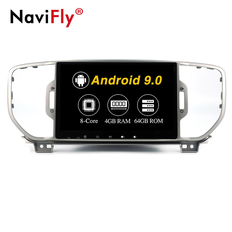 Navifly PX5 Android9.0 4 + 64G 9