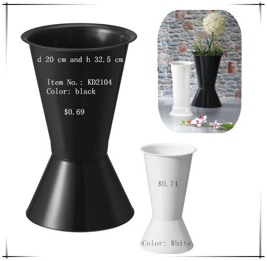 Wonderful plastic flower vase