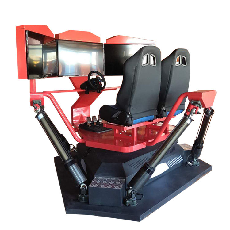 Leader Game New Product 6 dof 4 cylinders racing simulator cockpit arcade racing car game machine