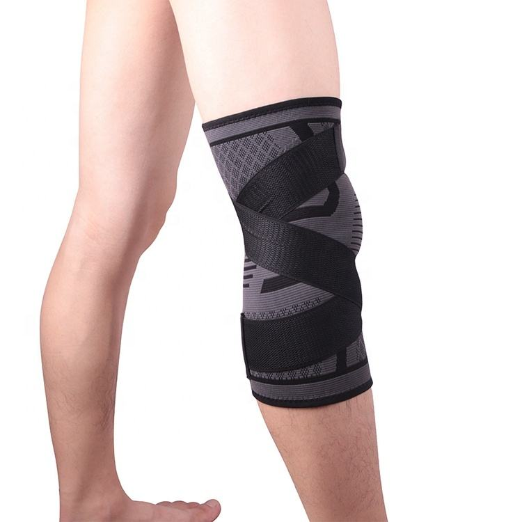 Compression Fit Support Knee Sleeve,Improved Circulation Compression-for Joint Pain and Arthritis Relief