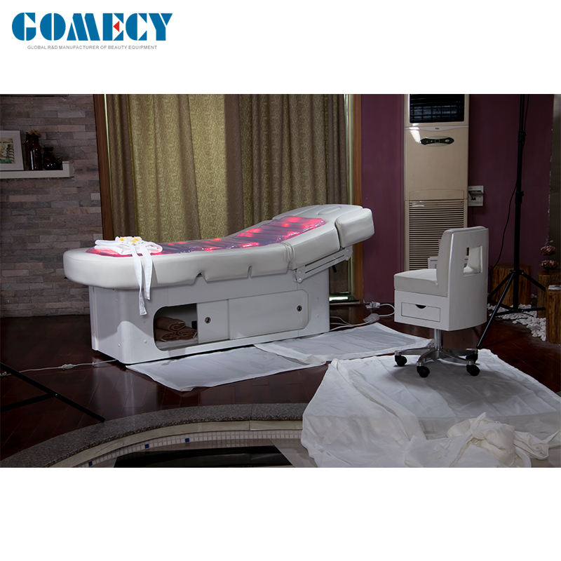 GOMECY Beauty salon furniture,Thermal Water Massage Bed hot sales beauty salon equipment and furniture