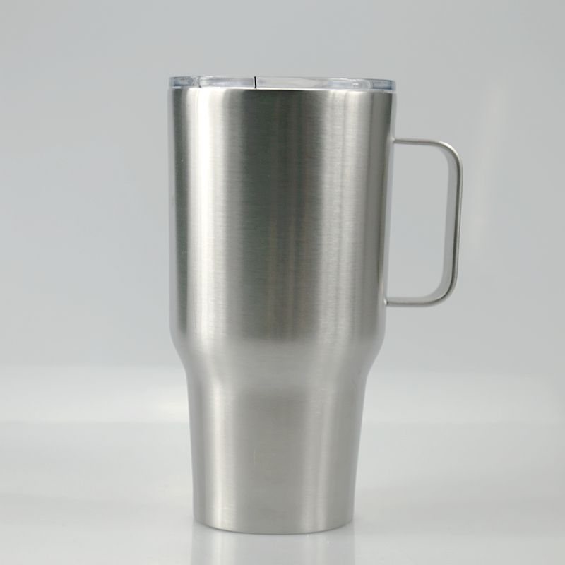 30oz stainless steel tumbler with handle double wall vacuum insulated coffee mugs keep hot and cold cups