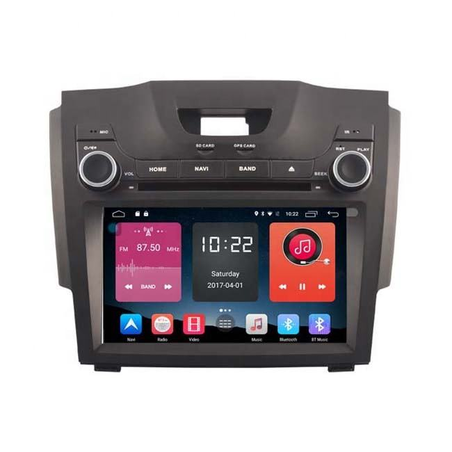 Newnavi 8 inch Android 10 car radio gps dvd player for Chevrolet S10 car multimedia player