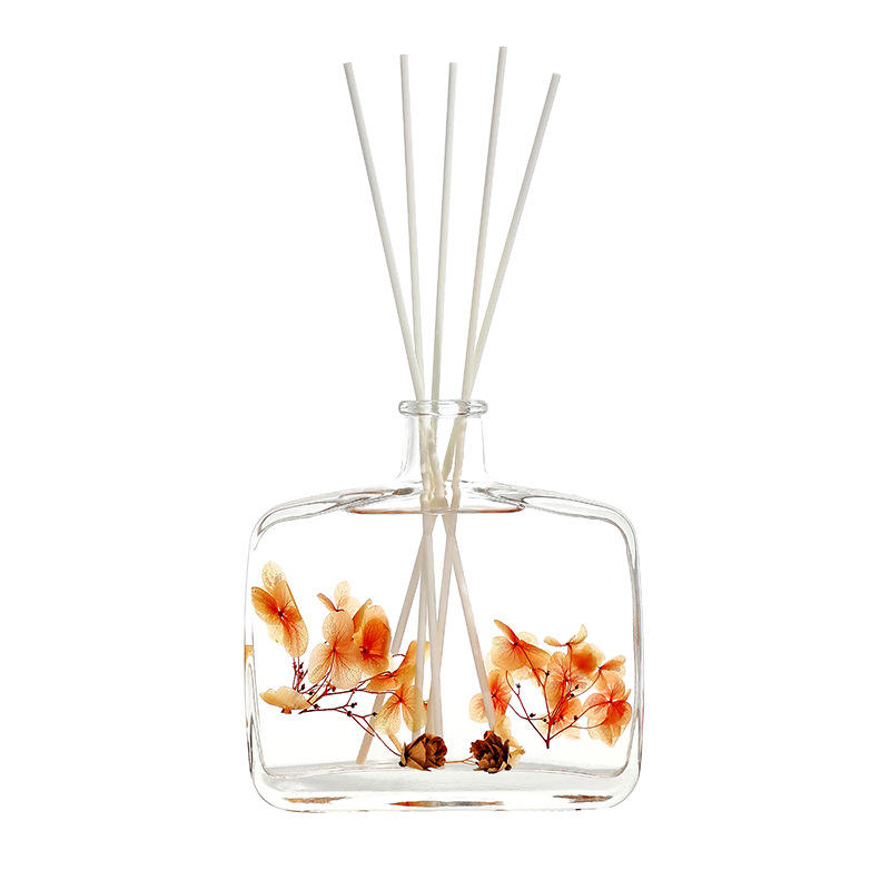 No Fire Diffuser Fragrance Essential Oil Bottle Household Bedroom Incense Room Lasting Decoration Glass Oil Diffuser