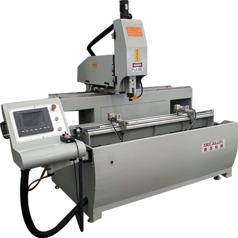 CNC 3 axis industry aluminum profile milling drilling machine