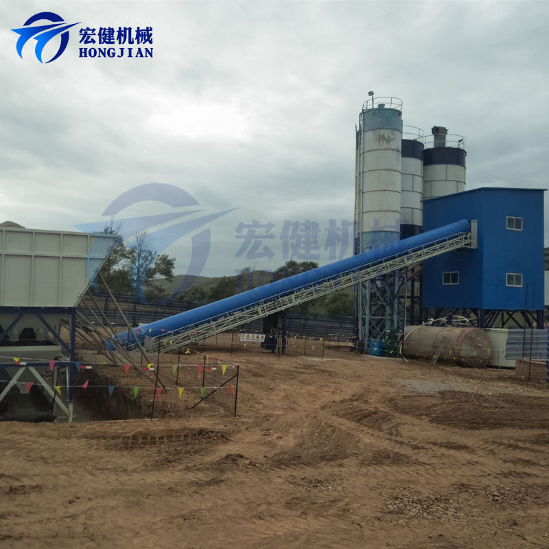 Selling Of Concrete Mixing Plant HZS180 Concrete Readymix