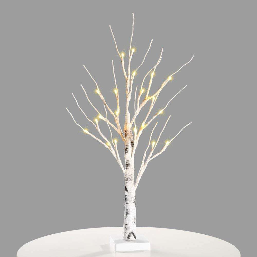 Bolylight 3*AA battery LED Mini Birch christmas tree light lights Decorations for Home/Bedroom/Party/Desk