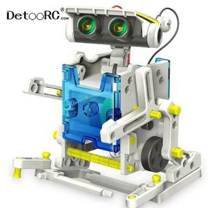 Deoo 14 In 1 Solar Robot Kit Science Experiment Set Stem Speelgoed Diy Building Voor Kids Montage Educatief Speelgoed