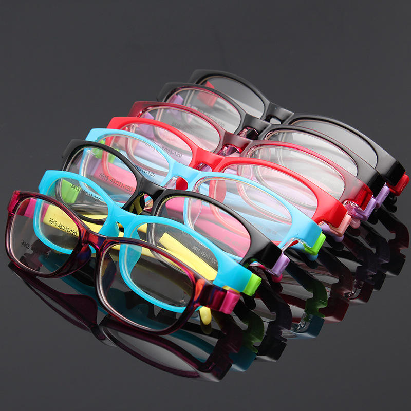 Popular Children Radiation Protection Silicone Hinge Kids Glasses Ready In Stock