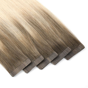 K.SWIGS 100% Top Quality Virgin Hair Remy Human Single Drawn invisible Tape in Hair