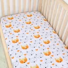Top Quality Baby Organic Cotton Muslin Crib Sheet