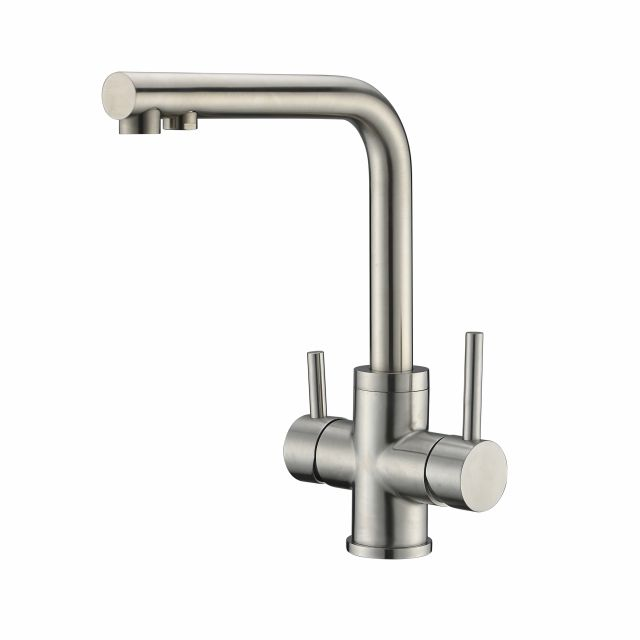 Water filter sus 304 Stainless Steel 3 way kitchen sink purified drink water faucet