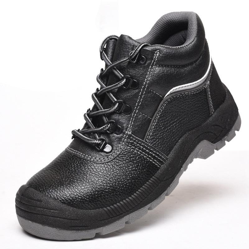 High Quality Customized Steel Toe Safety Shoes Work Boots