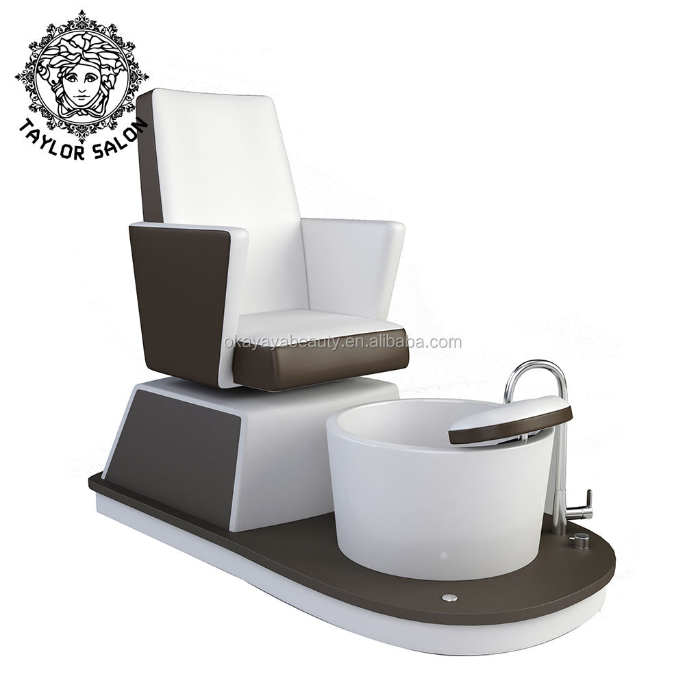 Beauty nail salon furniture pedicure sinks and bowl luxury foot spa pedicure chair for sale