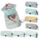 Baby Portable Changing Pad Upgraded Clean Hands Barrier Lightweight Waterproof Travel Diaper Changing Mat Station Kit