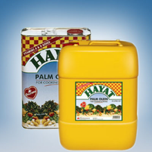 HAYAT VEGETABLE COOKING OIL/ BEST QUALITY MALAYSIA /CP6/CP8/CP10