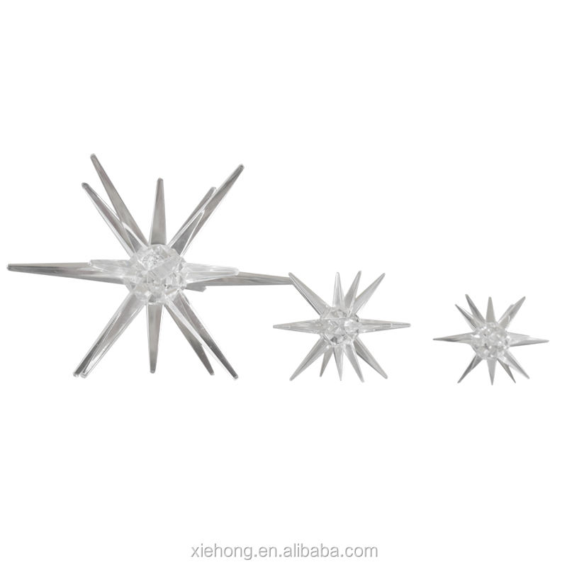 100MM Christmas Gift Dandelion Pendant light Acrylic sea urchin star Acrylic Sparkling Star