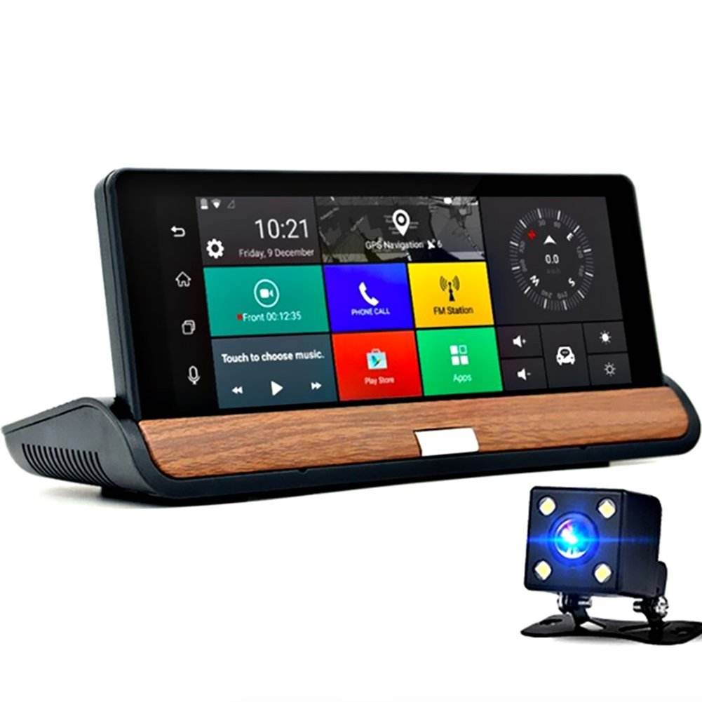 7.84'' Touch Screen Full Hd Camera Module Navigation With Car Dvr Uhd 1080p Gps Adas Dash Cam