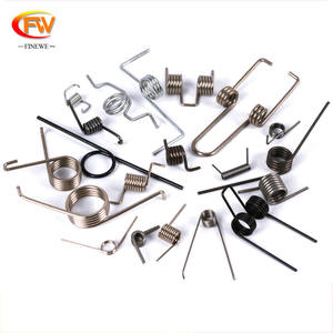 Customized music wire small spring steel flat torsion spring