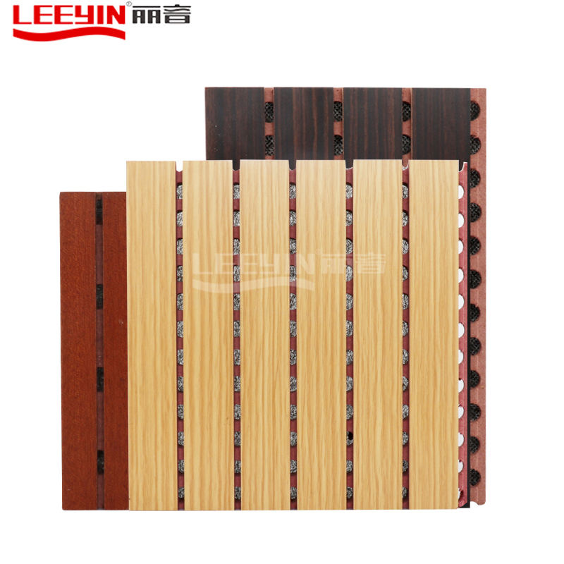 Leeyin <span class=keywords><strong>MDF</strong></span> OEM आकार अत्यधिक प्रभावी <span class=keywords><strong>ध्वनि</strong></span> <span class=keywords><strong>अवशोषण</strong></span> अंडाकार लकड़ी <span class=keywords><strong>ध्वनि</strong></span>क पैनल