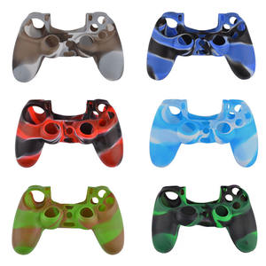 King glory artifact peace elite game occupation touch thumb gamepad silicone controller grip cover case for ps4/5 gamepad