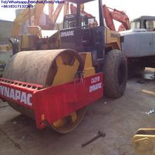 High Performance Used Dynapac CA251D 10 ton Vibrating Road Compactor With Single Drum For Sale
